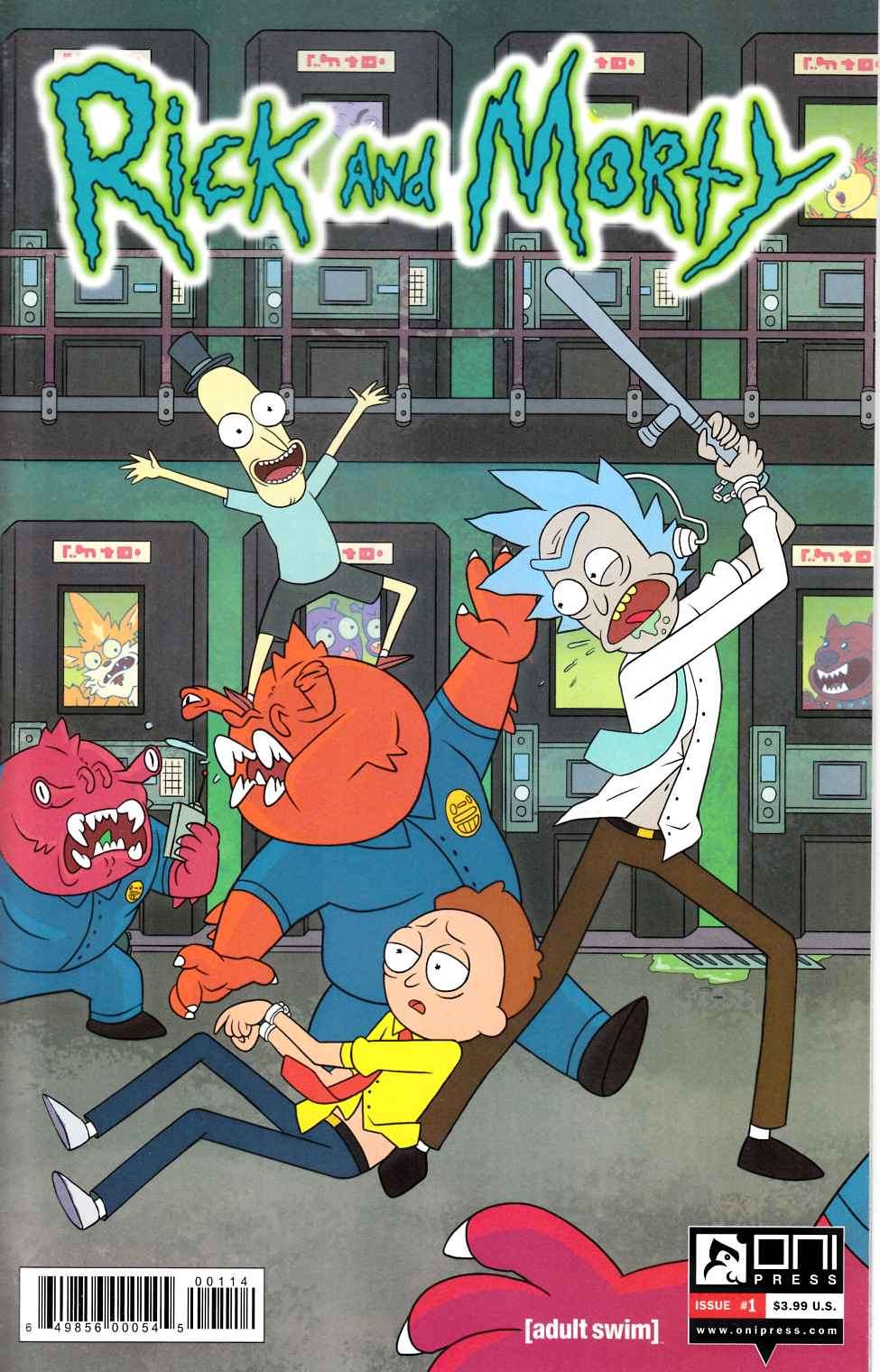Rick & Morty #1 Fourth Printing [Oni Press Comic]
