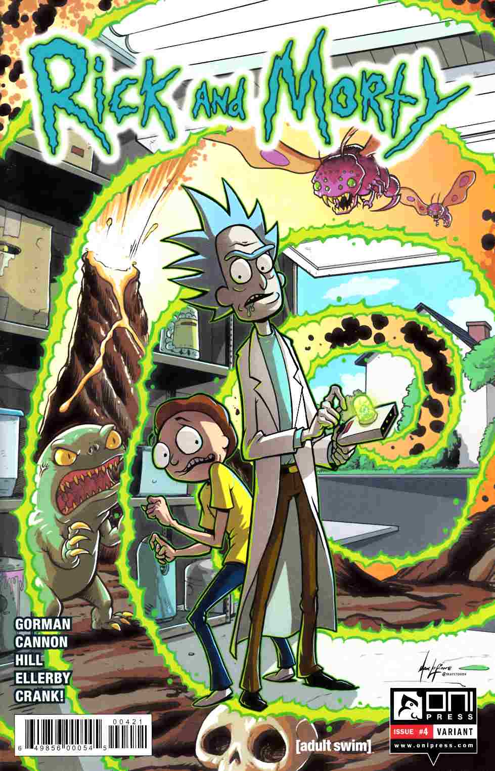 Rick & Morty #4 Lapierre Variant [Oni Press Comic]_LARGE