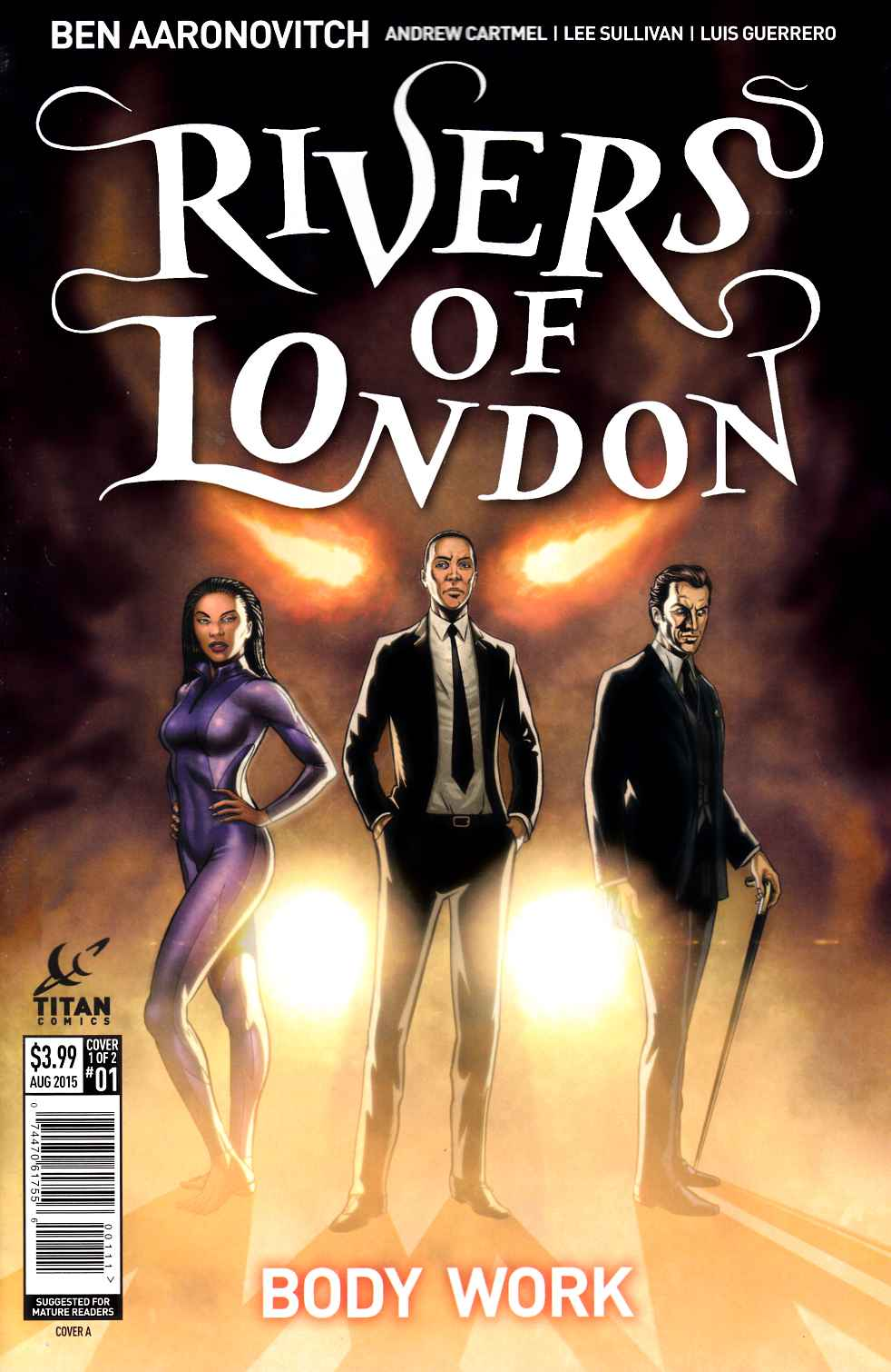 Rivers of London #1 [Titan Comic]