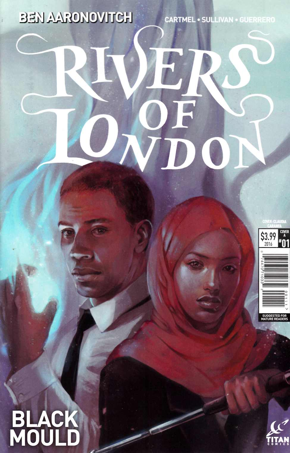 Rivers of London Black Mould #1 Cover A [Titan Comic] THUMBNAIL