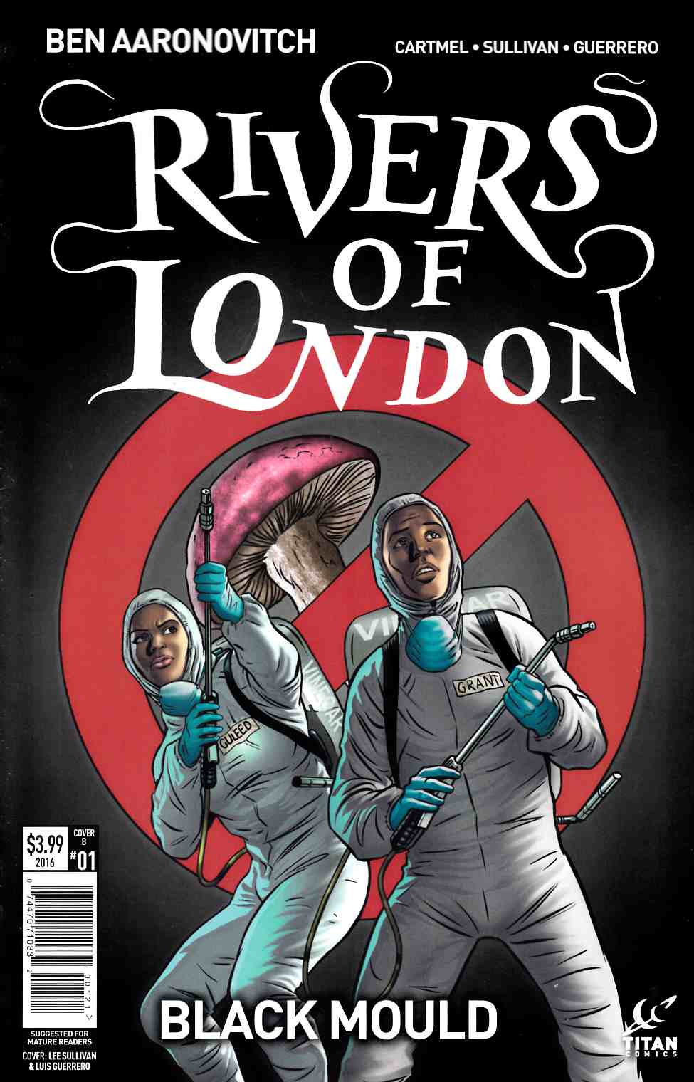 Rivers of London Black Mould #1 Cover B [Titan Comic] THUMBNAIL