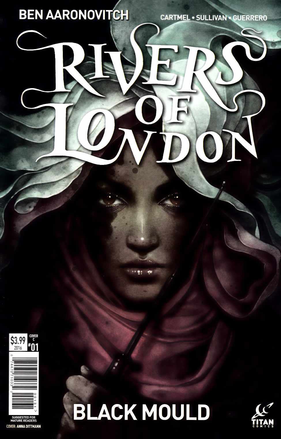 Rivers of London Black Mould #1 Cover C [Titan Comic] THUMBNAIL