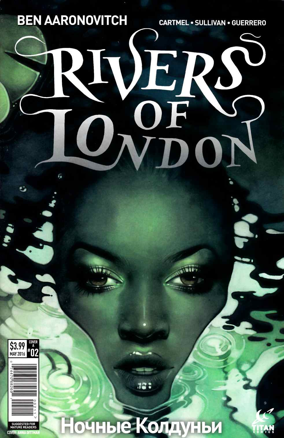 Rivers of London Night Witch #2 Cover A Very Fine (8.0) [Titan Comic] LARGE