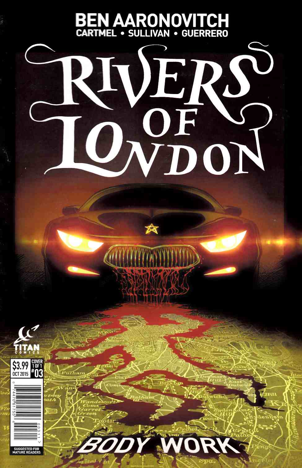 Rivers of London #3 [Titan Comic]