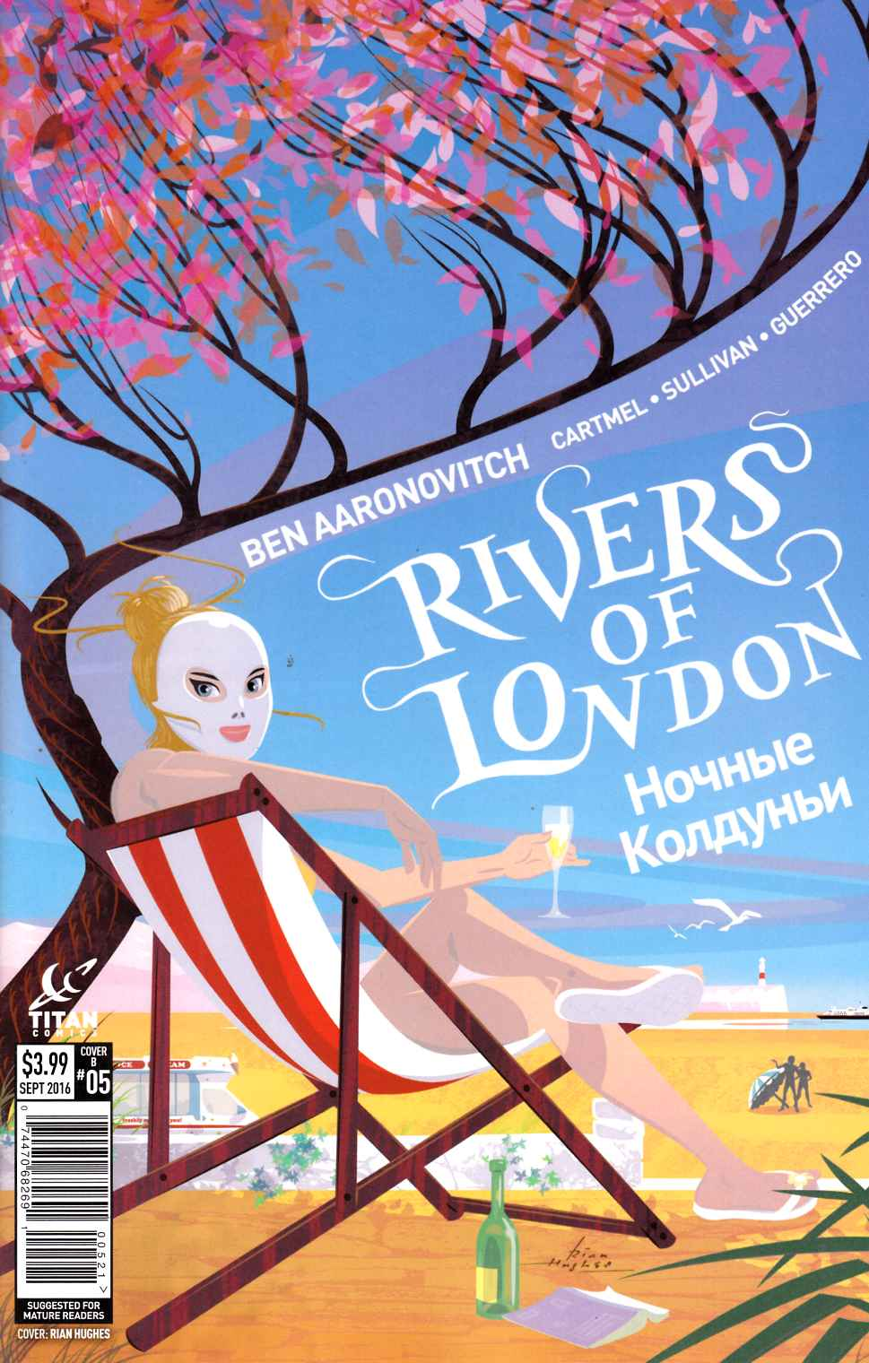 Rivers of London Night Witch #5 Cover B [Titan Comic] THUMBNAIL