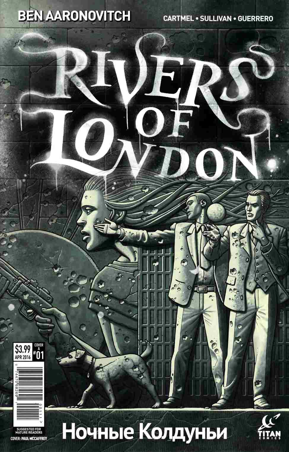 Rivers of London Night Witch #1 Cover A- Mccaffrey [Titan Comic] THUMBNAIL