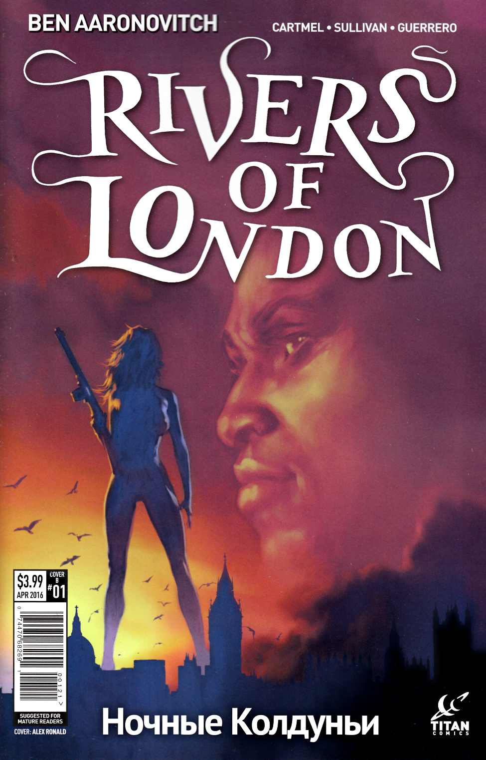 Rivers of London Night Witch #1 Cover B- Ronald [Titan Comic] THUMBNAIL