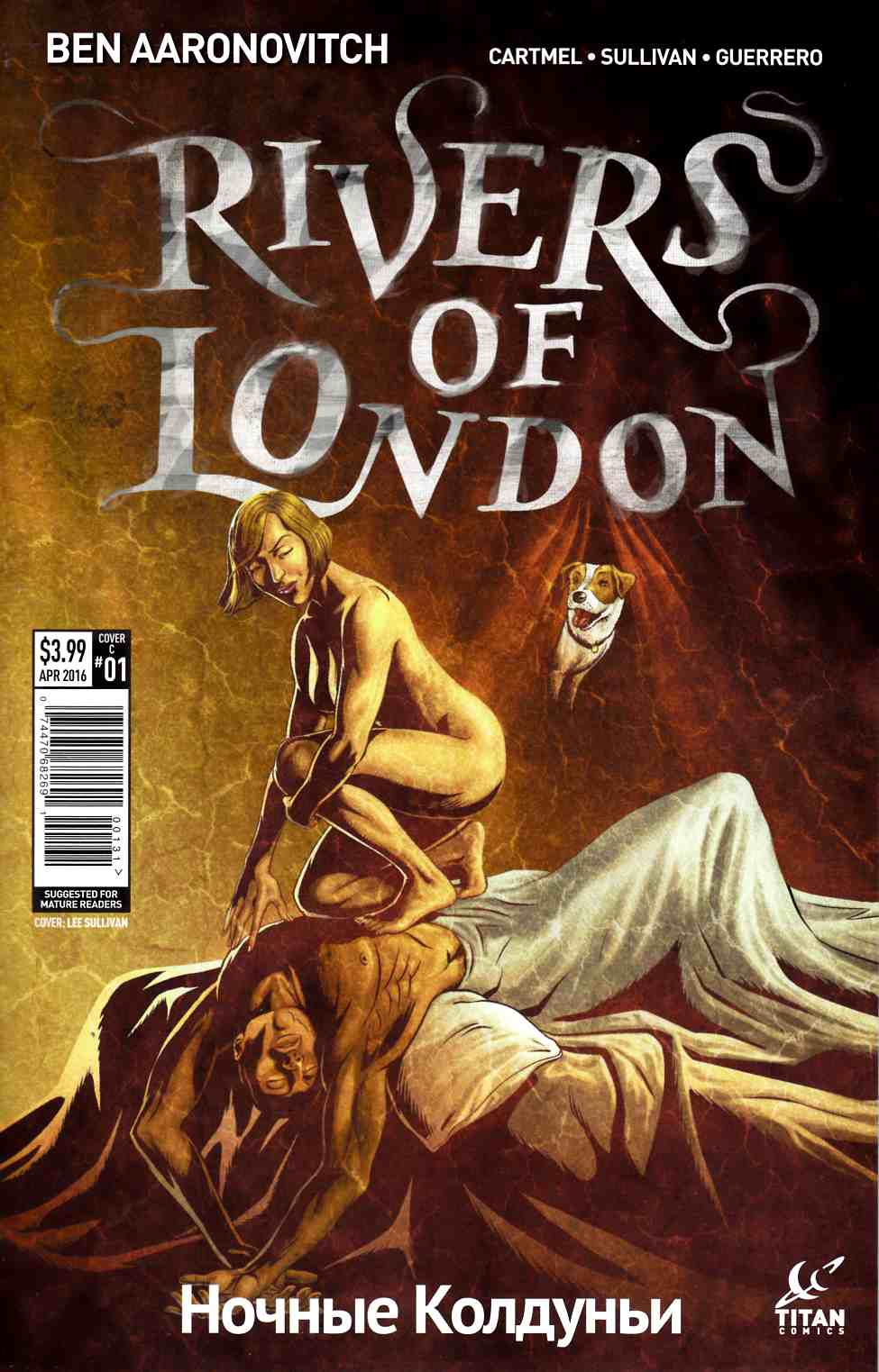 Rivers of London Night Witch #1 Cover C- Sullivan [Titan Comic] THUMBNAIL