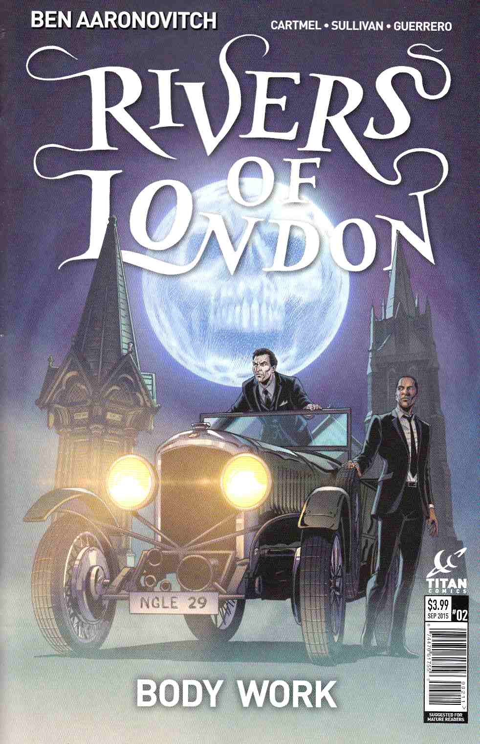 Rivers of London #2 [Titan Comic]