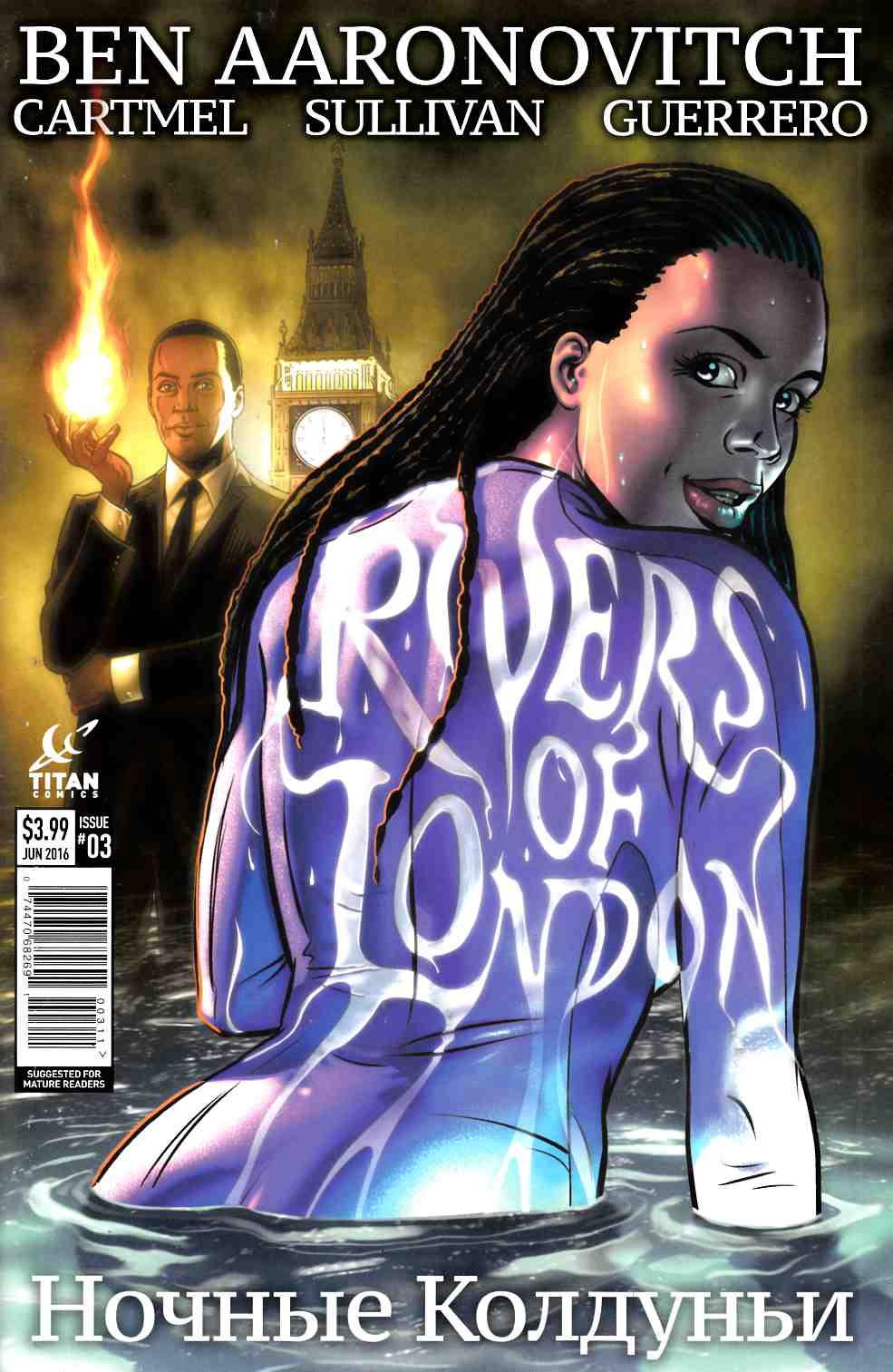 Rivers of London Night Witch #3 Cover A [Titan Comic] THUMBNAIL