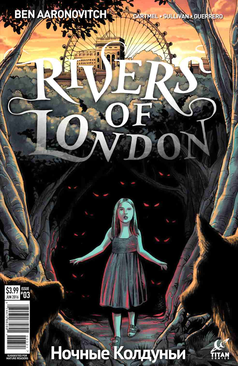Rivers of London Night Witch #3 Cover B [Titan Comic] THUMBNAIL