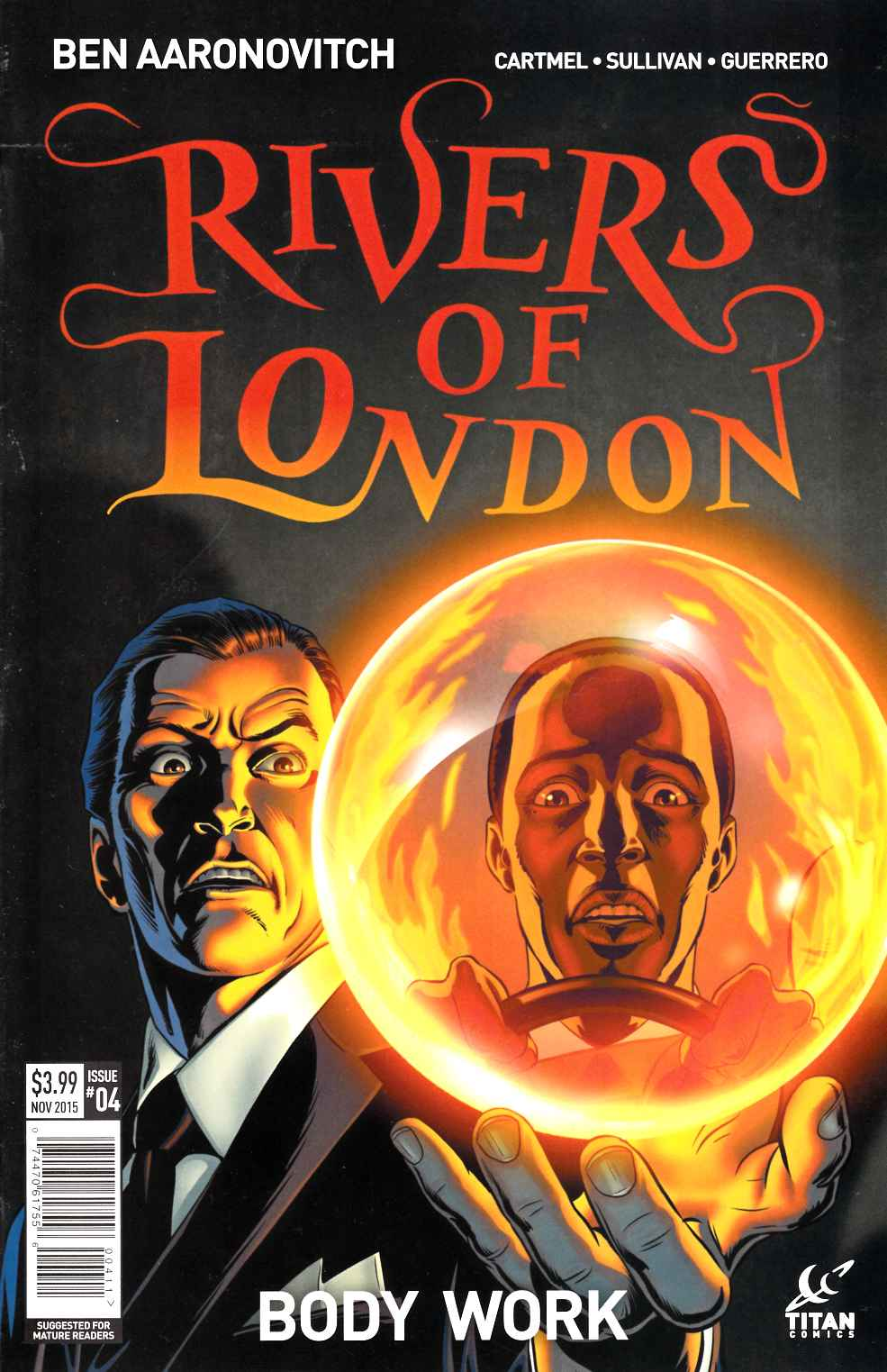 Rivers of London #4 [Titan Comic] THUMBNAIL
