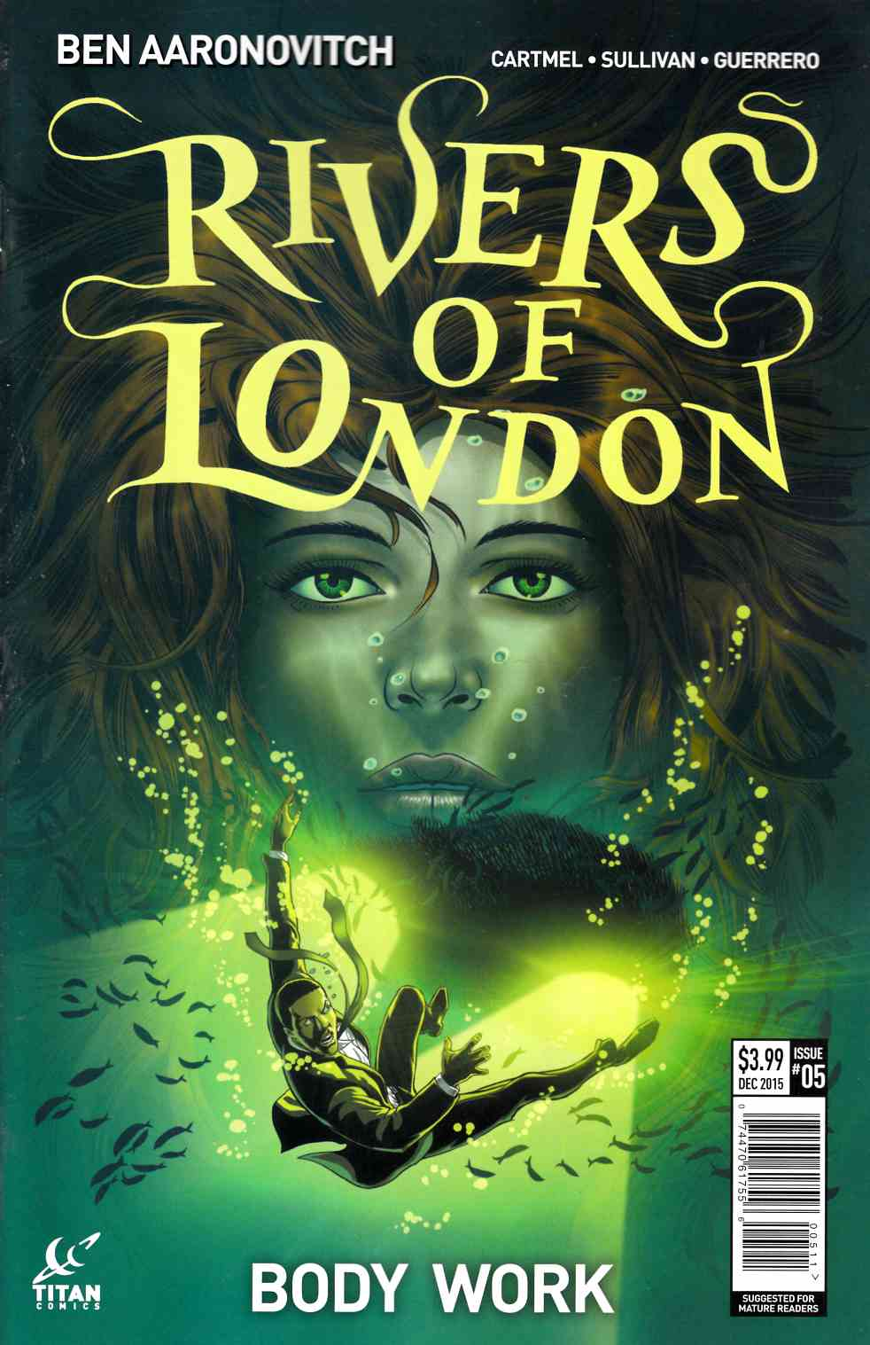 Rivers of London #5 [Titan Comic] THUMBNAIL