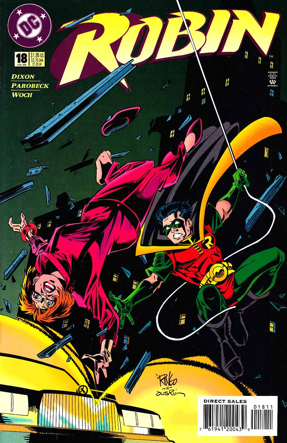 Robin #18 [DC Comic] LARGE