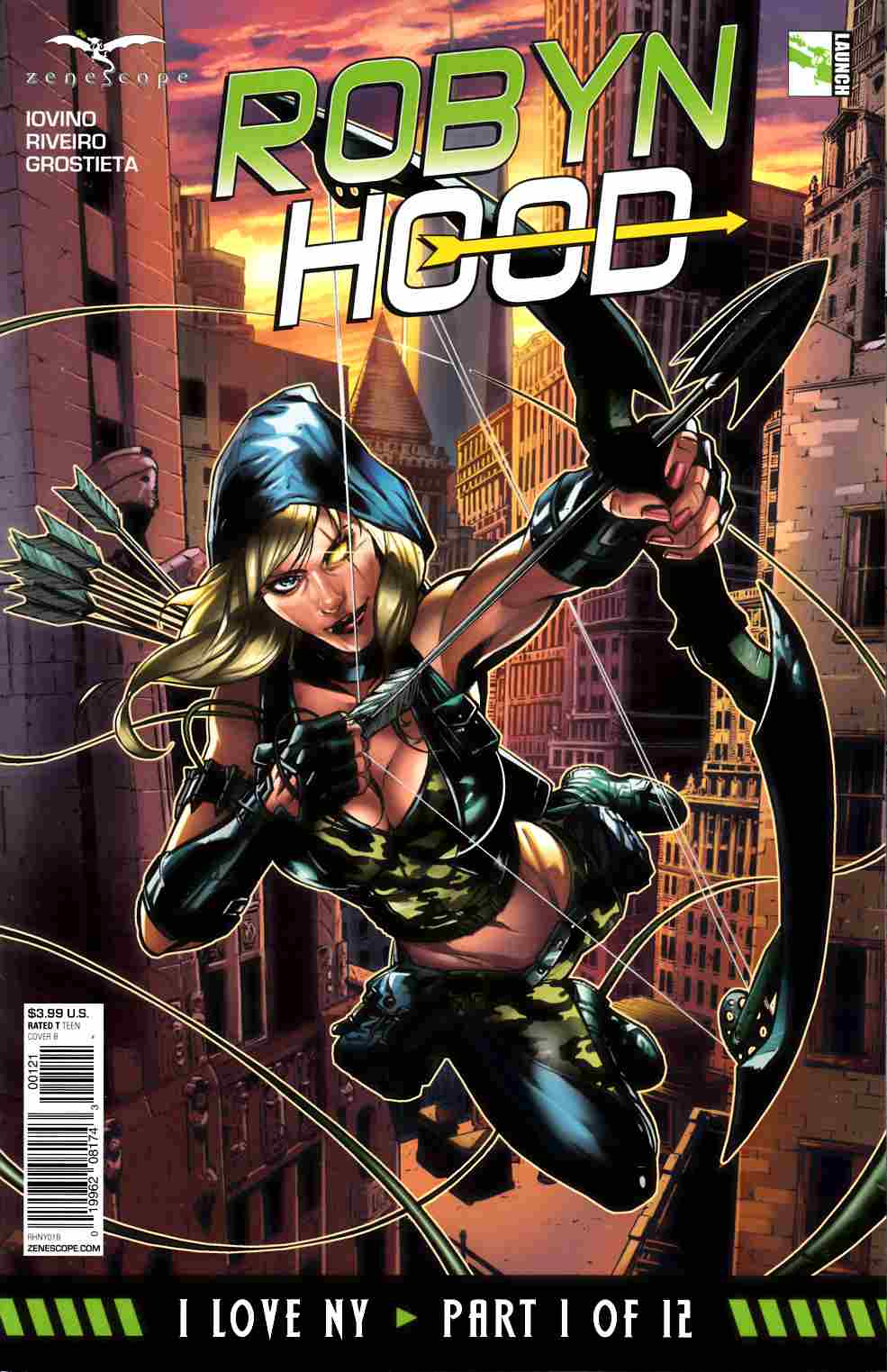 GFT Robyn Hood I Love NY #1 Cover B [Zenescope Comic] LARGE