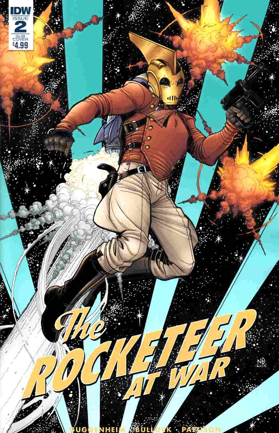 Rocketeer at War #2 Subscription Cover [IDW Comic]_LARGE