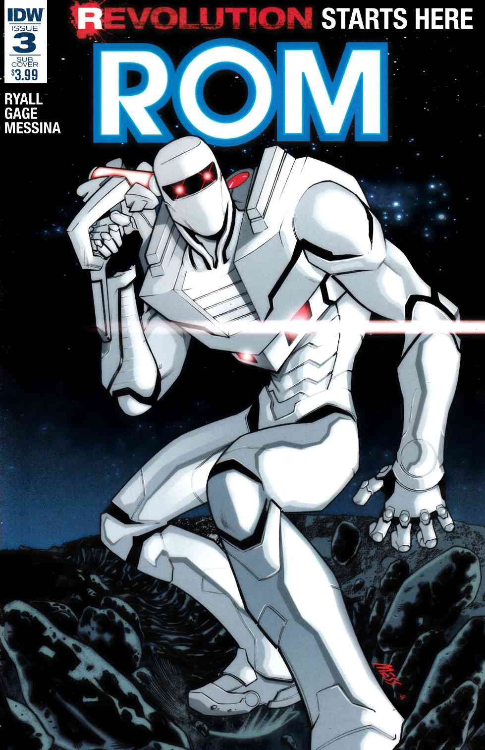 Rom #3 Subscription Cover C [IDW Comic] LARGE