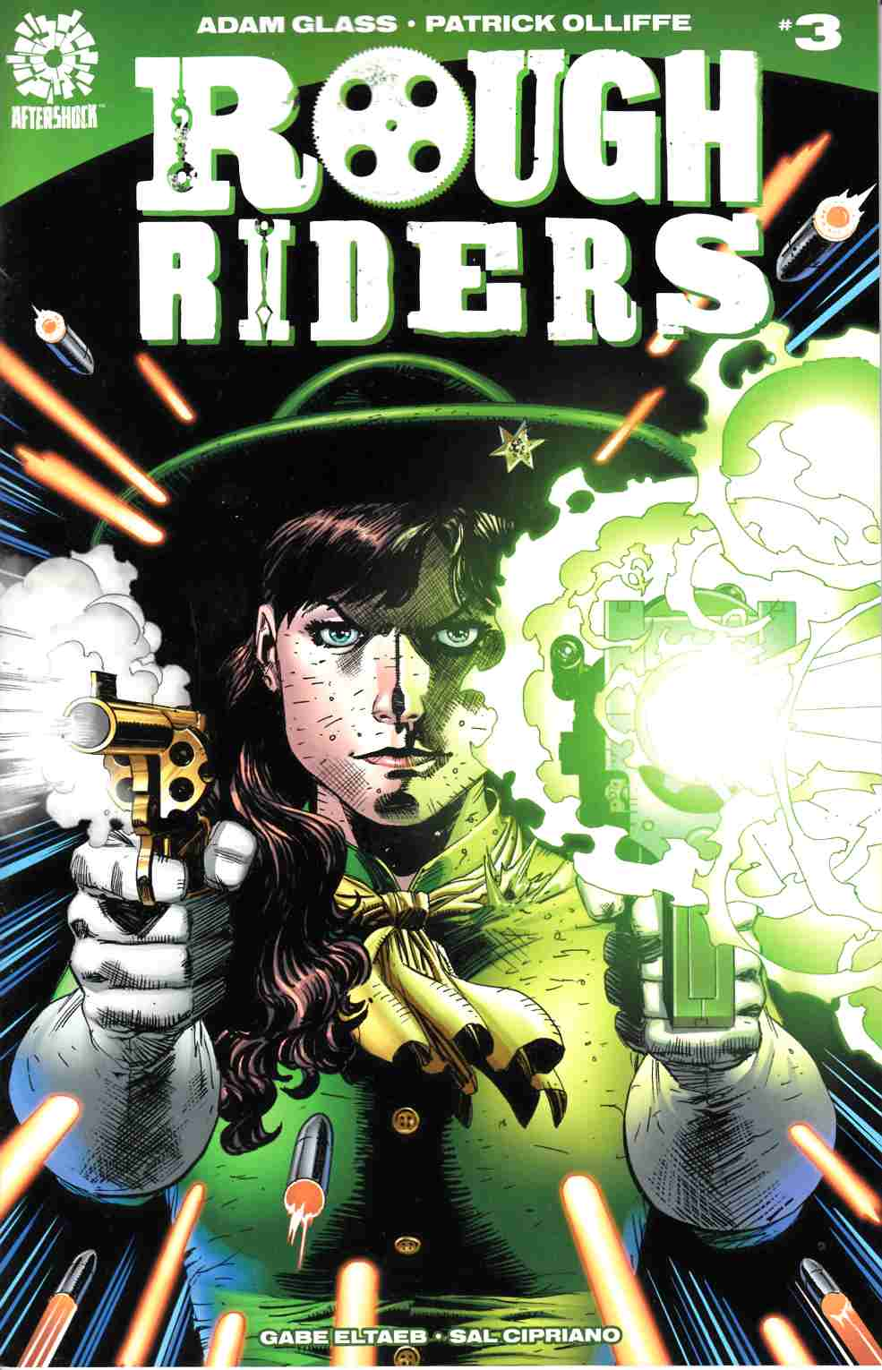 Rough Riders #3 [Aftershock Comic] LARGE