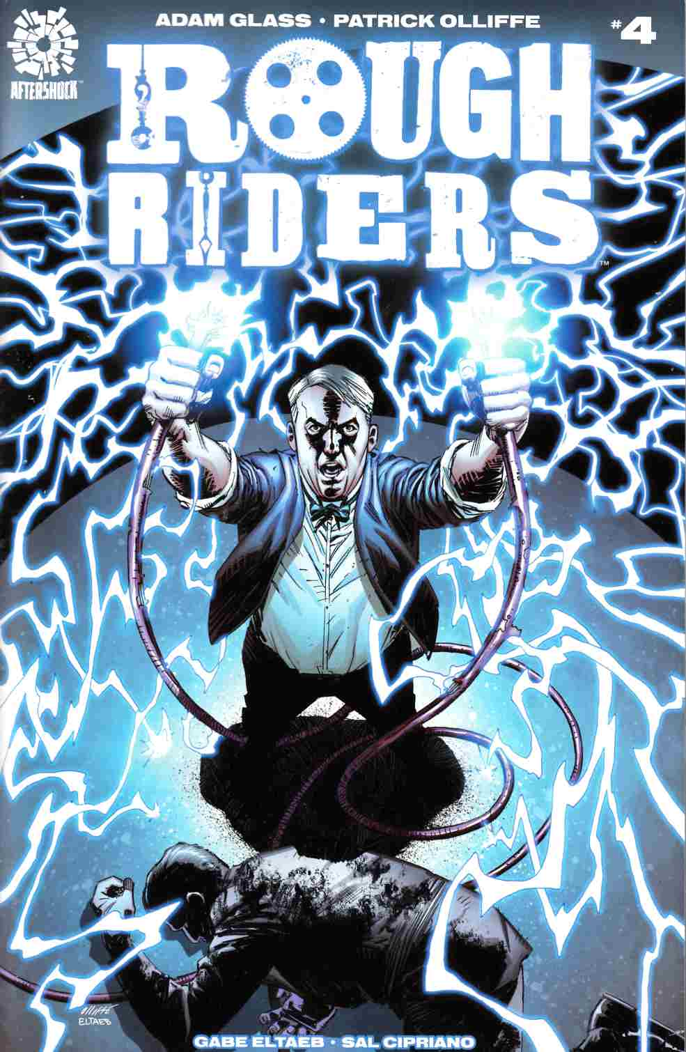 Rough Riders #4 [Aftershock Comic] LARGE