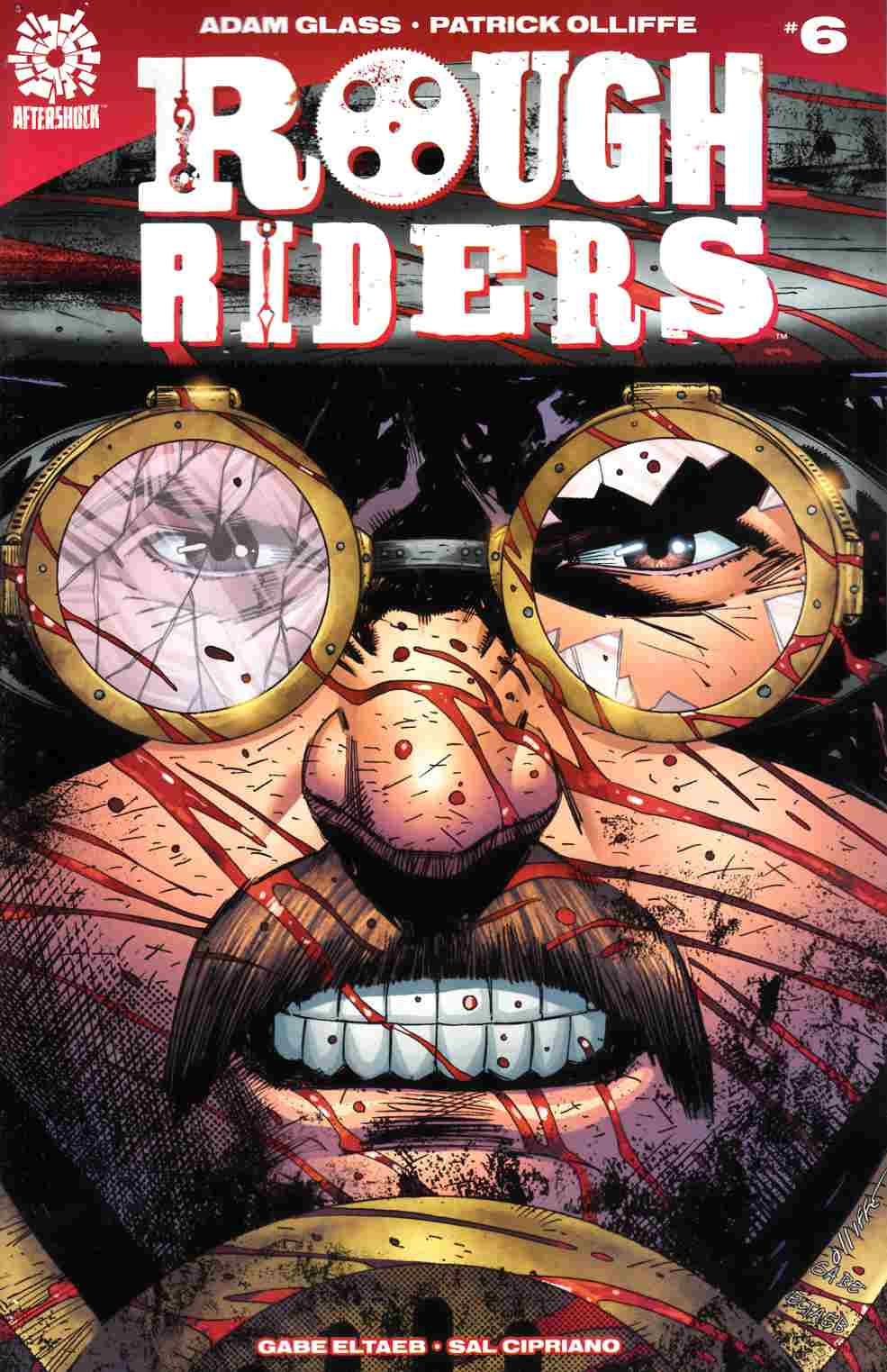 Rough Riders #6 [Aftershock Comic] LARGE