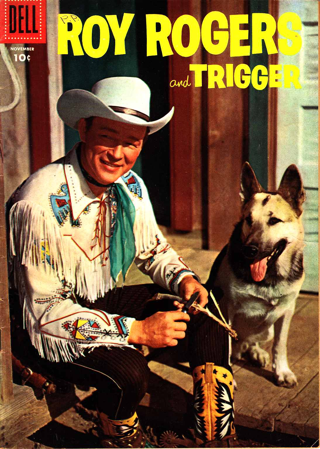 Roy Rogers Comics #95 [Dell Comic] LARGE