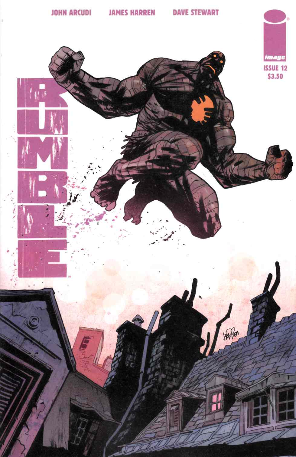 Rumble #12 Cover A [Image Comic] LARGE