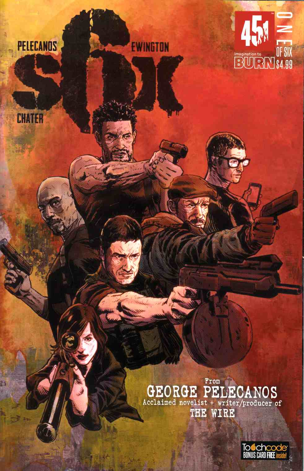 Six #1 Cover A- Chater [451 Media Comic] THUMBNAIL