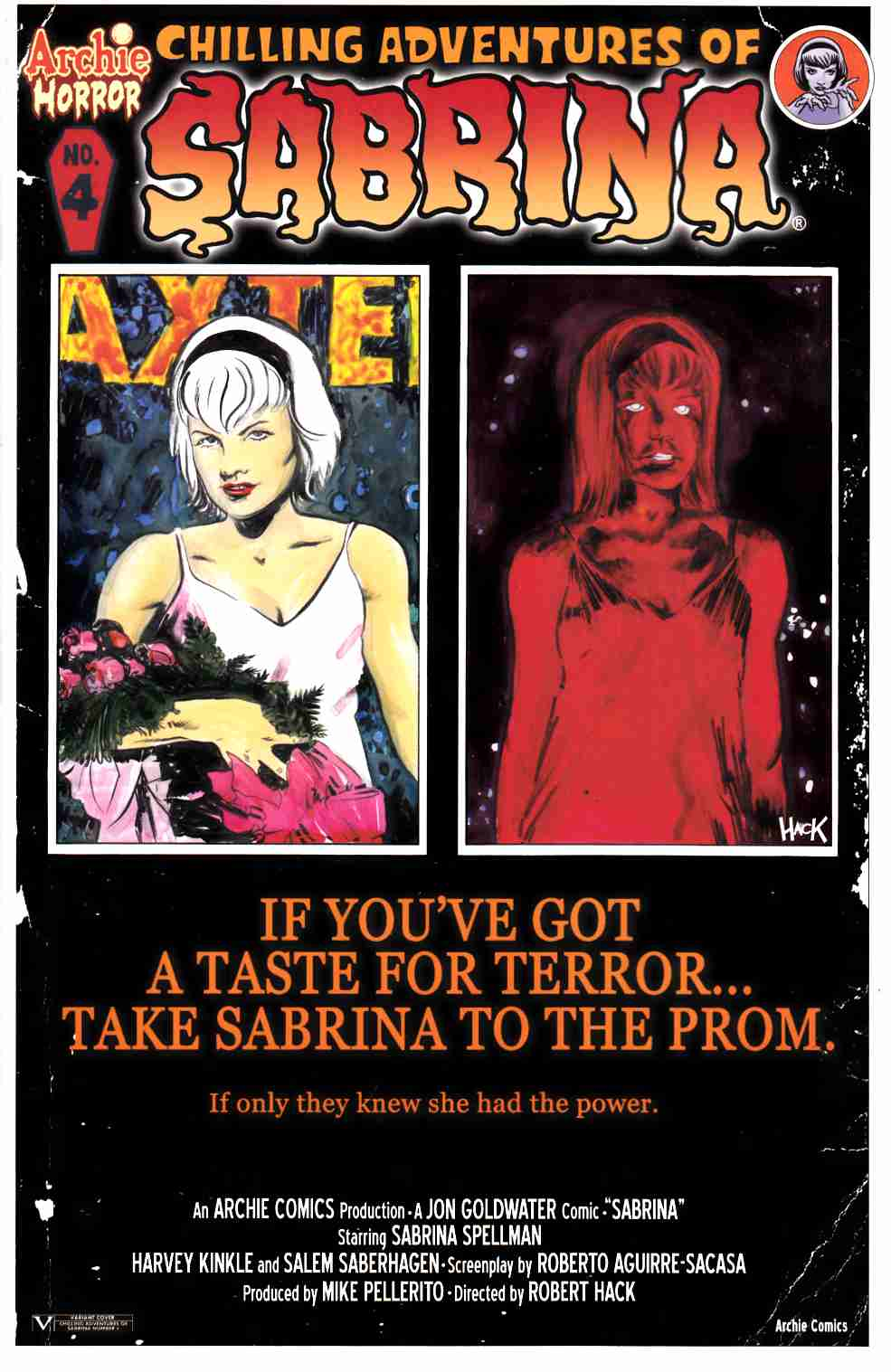 Sabrina #4 Carrie Variant Cover [Archie Comic] LARGE