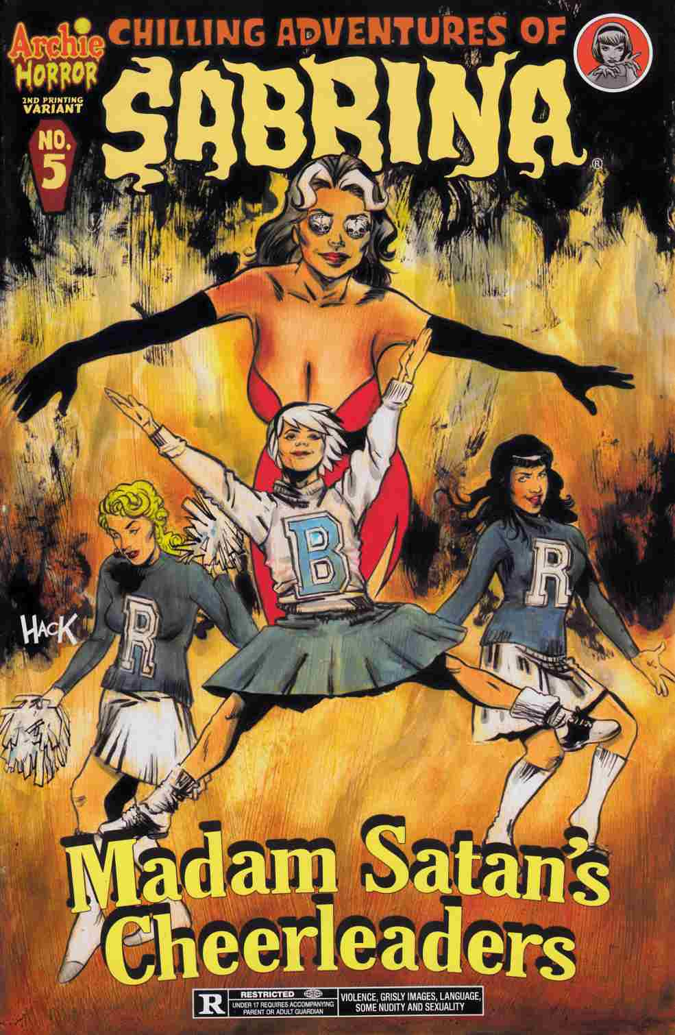 Sabrina #5 Second Printing [Archie Comic] LARGE