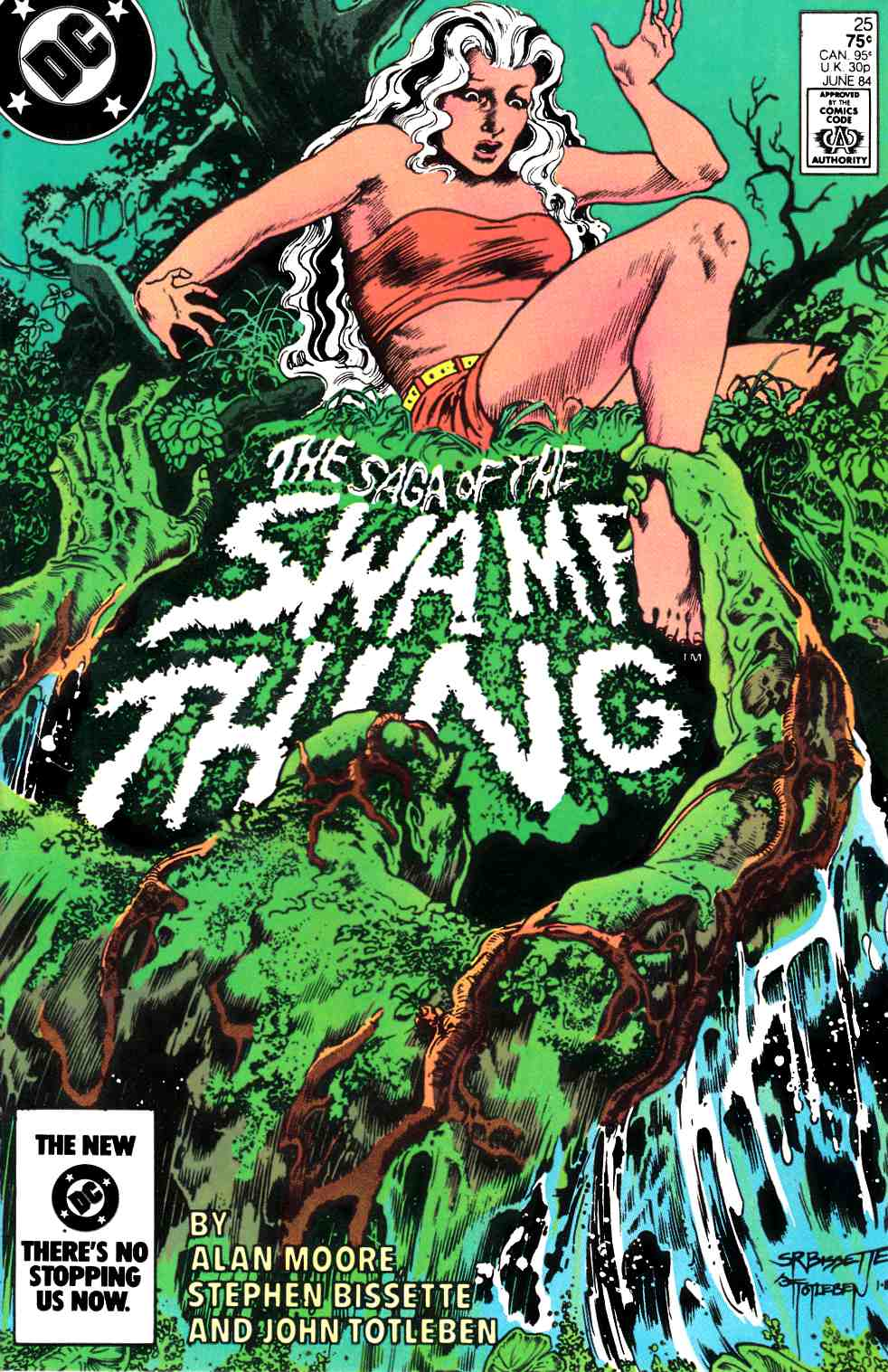 Saga of the Swamp Thing #25 [Comic] THUMBNAIL