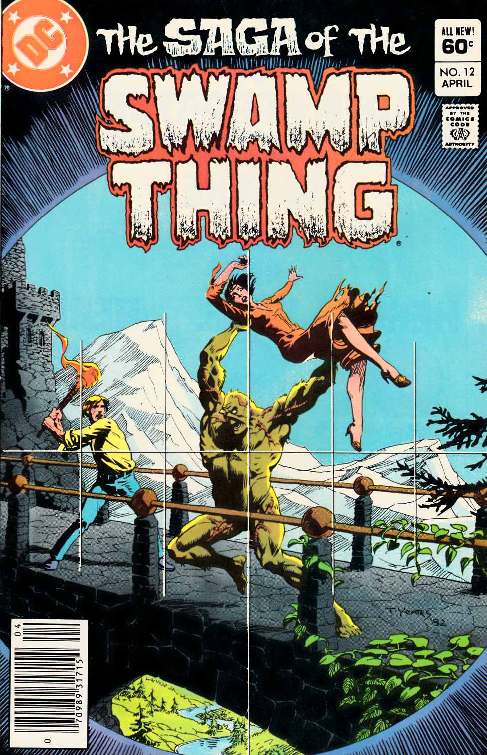 Saga of the Swamp Thing #12 Very Fine (8.0) [DC Comic] THUMBNAIL