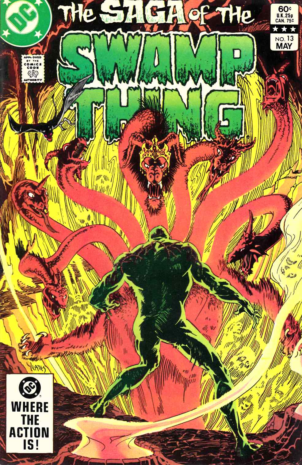Saga of the Swamp Thing #13 Very Fine (8.0) [DC Comic] THUMBNAIL