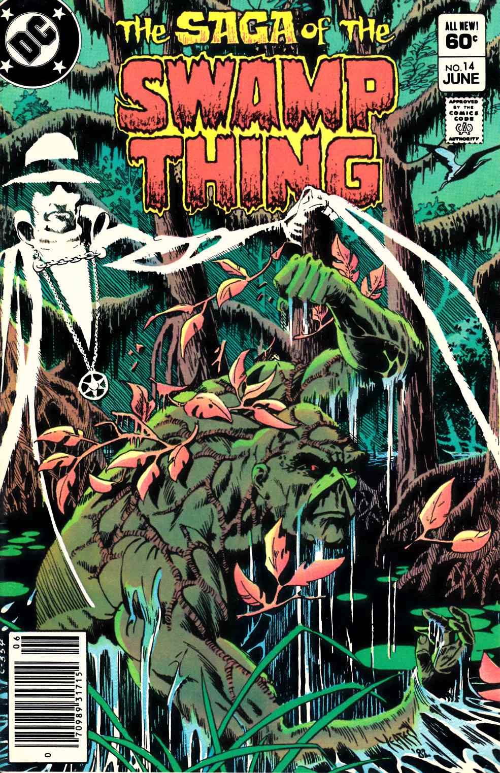 Saga of the Swamp Thing #14 Near Mint Minus (9.2) [DC Comic] THUMBNAIL