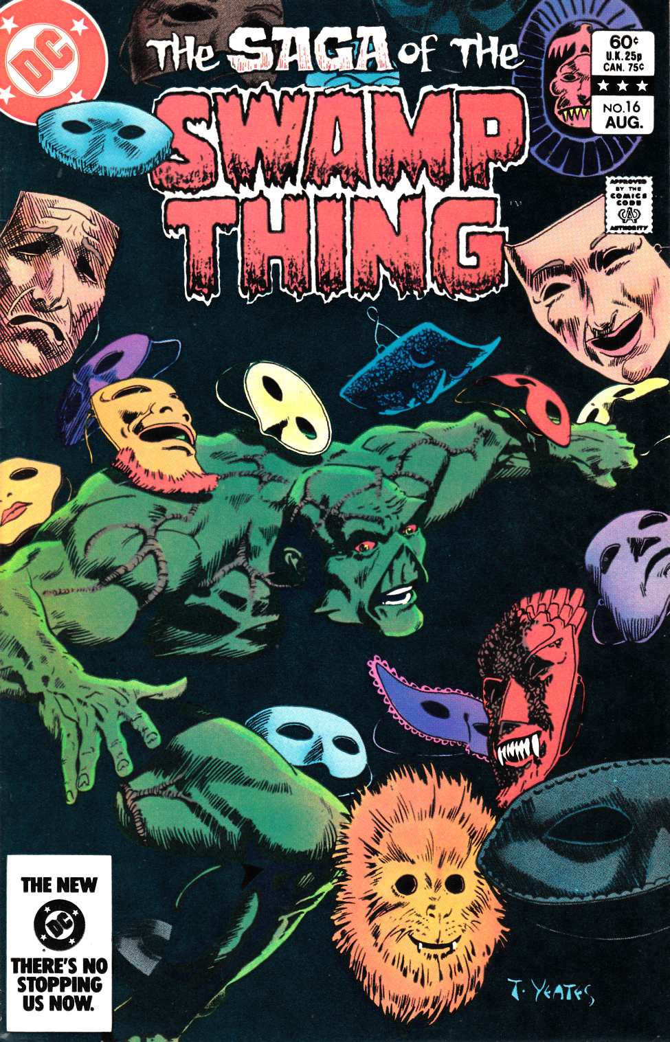 Saga of the Swamp Thing #16 Very Fine (8.0) [DC Comic] THUMBNAIL