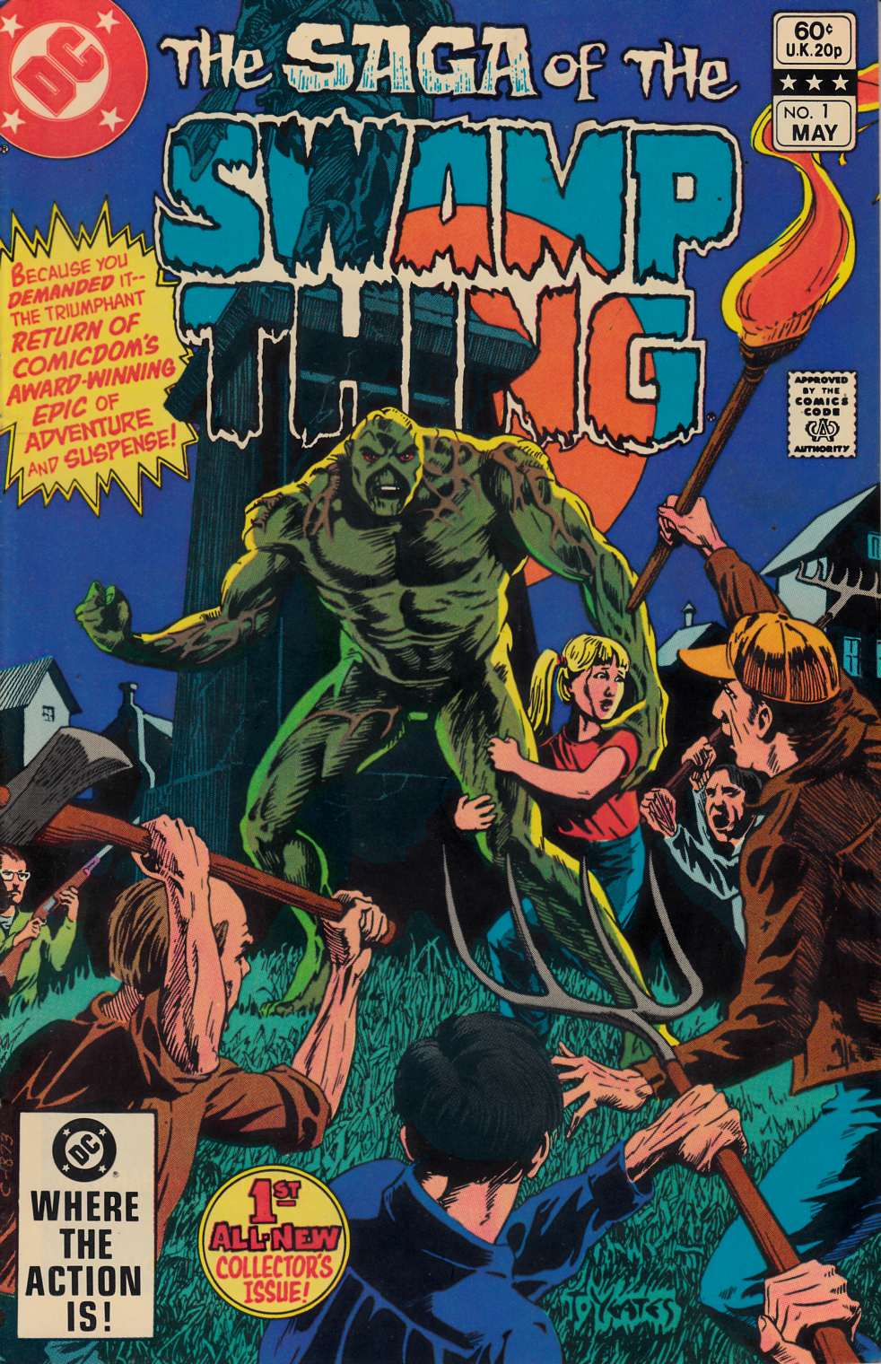Saga of the Swamp Thing #1 Fine (6.0) [DC Comic] THUMBNAIL