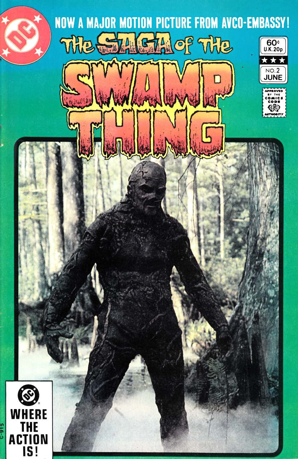 Saga of the Swamp Thing #2 Very Fine (8.0) [DC Comic] THUMBNAIL