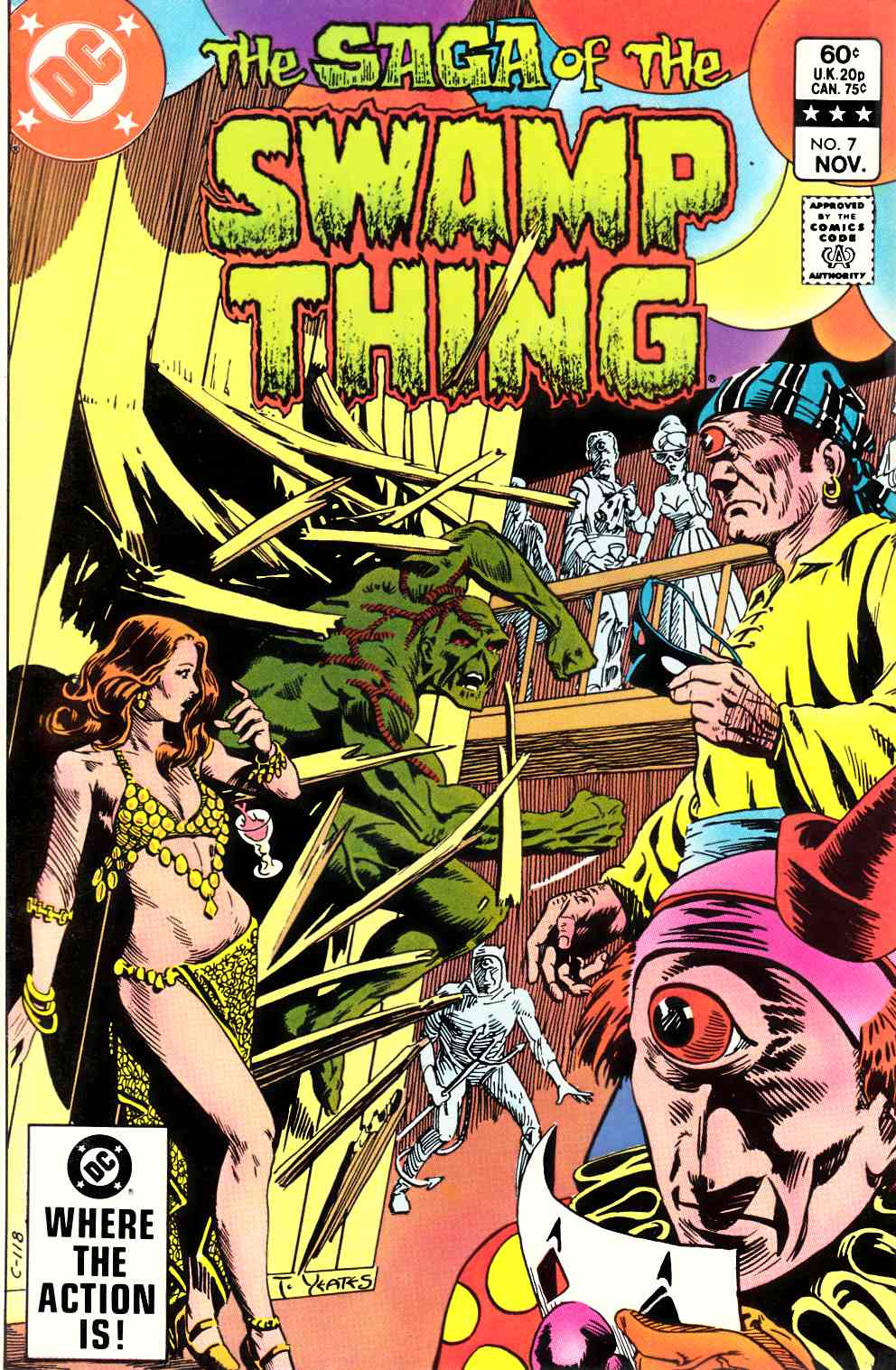 Saga of the Swamp Thing #7 Very Fine (8.0) [DC Comic] THUMBNAIL