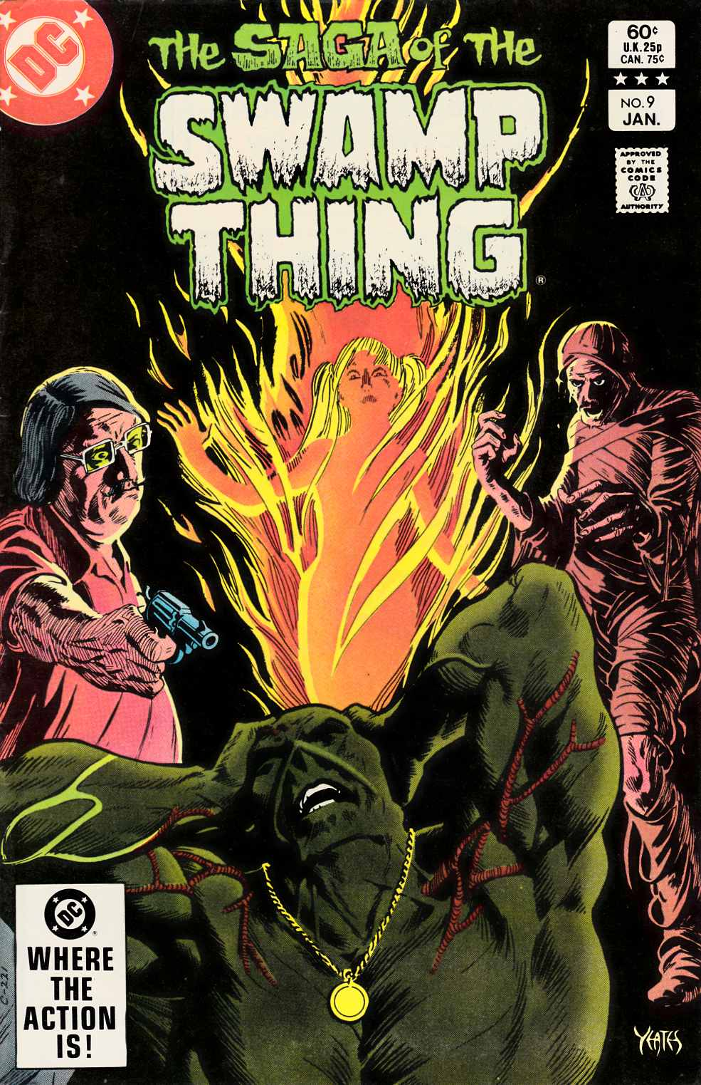 Saga of the Swamp Thing #9 Fine (6.0) [DC Comic] THUMBNAIL