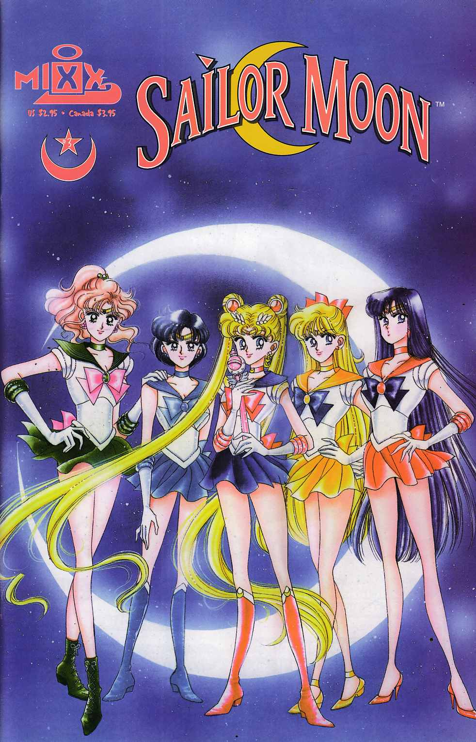 Sailor Moon #3 Near Mint (9.4) [Mixx Comic] THUMBNAIL