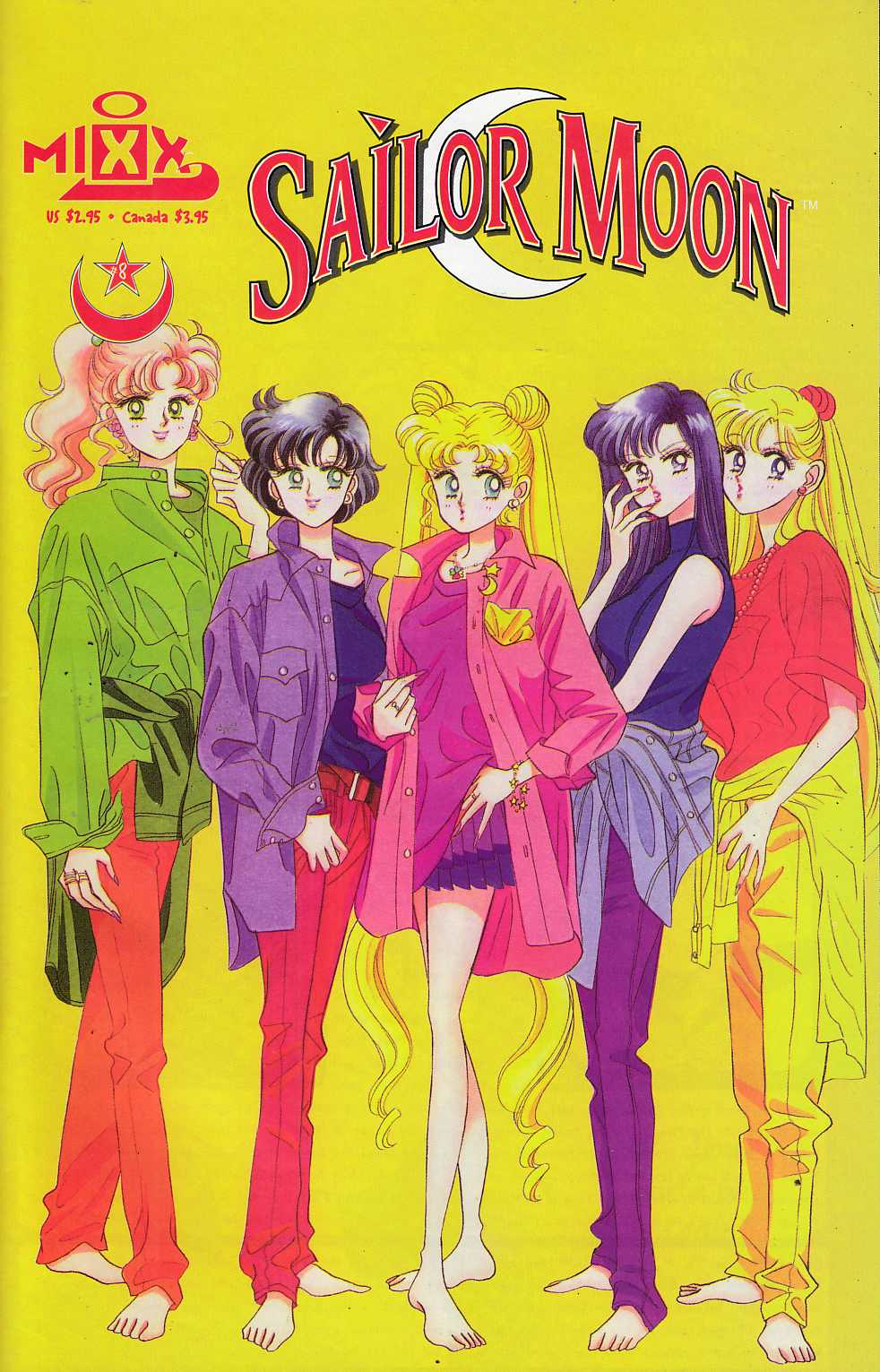 Sailor Moon #8 Near Mint (9.4) [Mixx Comic] THUMBNAIL
