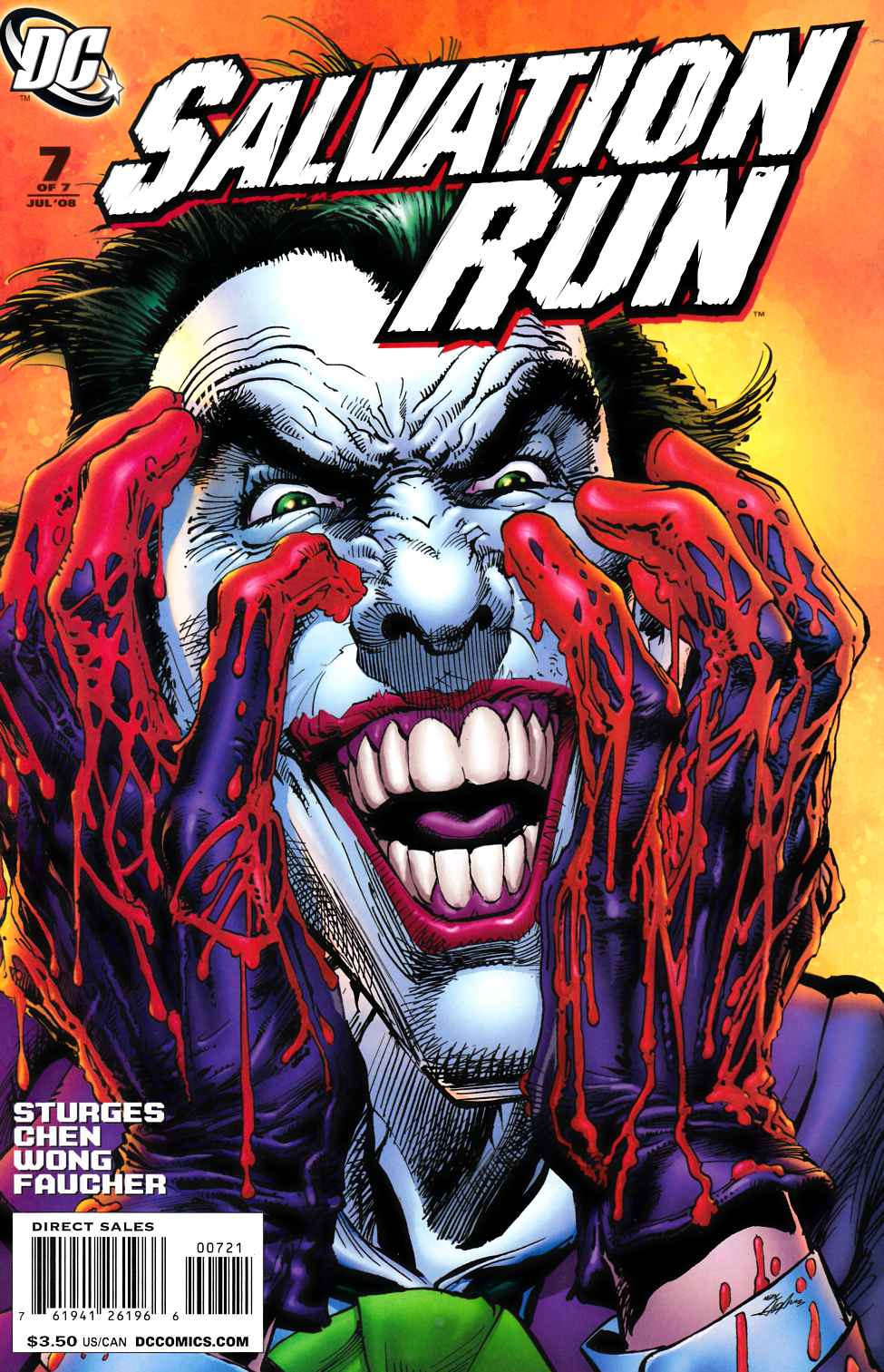 Salvation Run #7 Neal Adams Variant Cover [DC Comic] THUMBNAIL