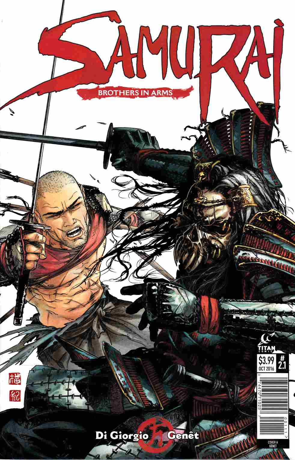 Samurai Brothers in Arms #1 Cover A [Titan Comic]_THUMBNAIL