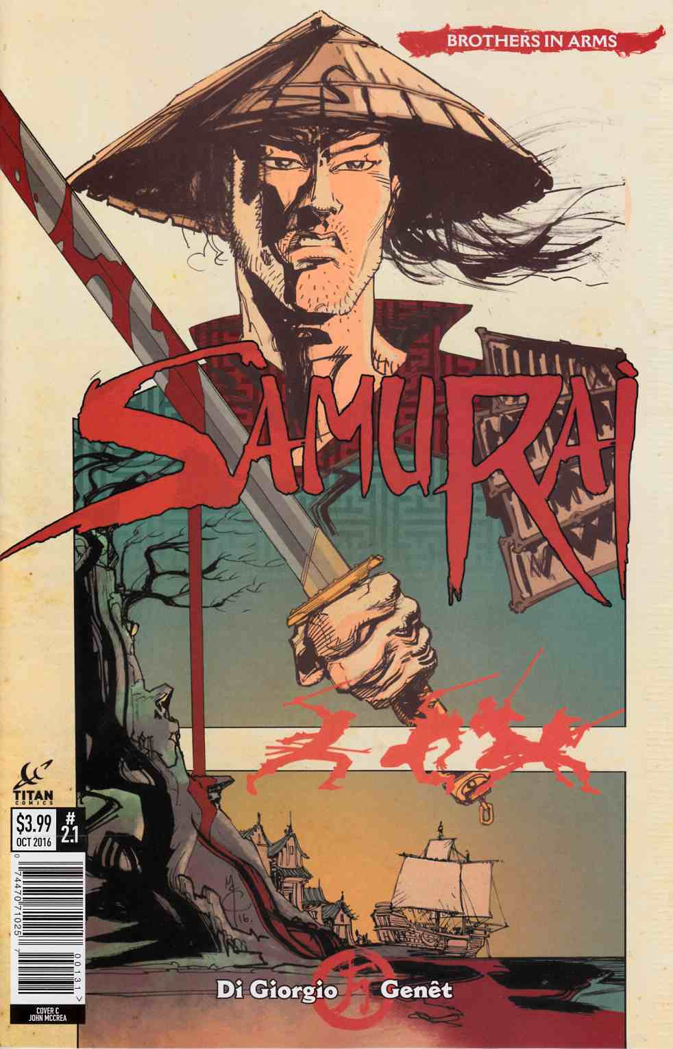 Samurai Brothers in Arms #1 Cover C [Titan Comic] THUMBNAIL