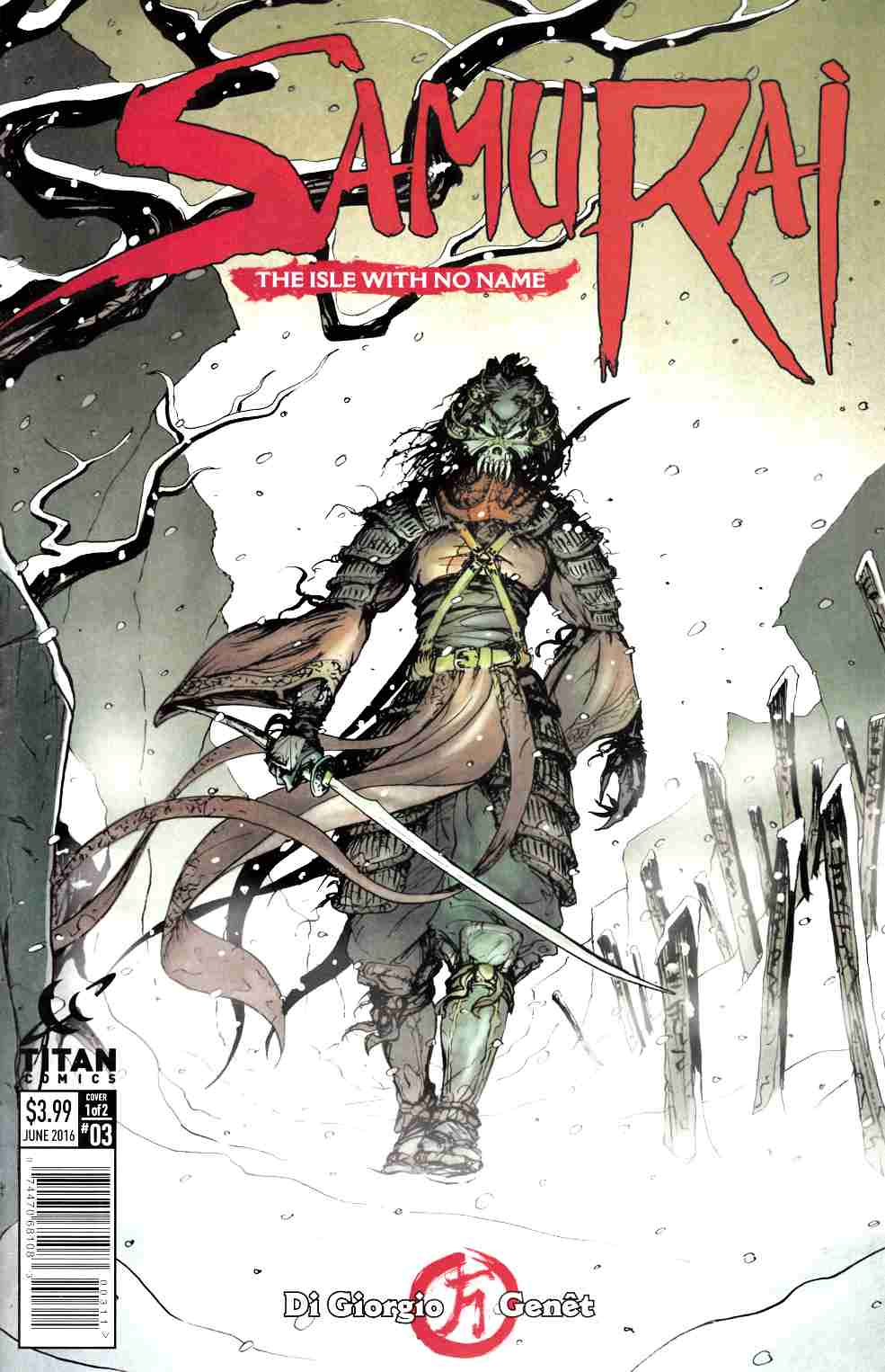 Samurai #3 Cover A [Titan Comic] LARGE