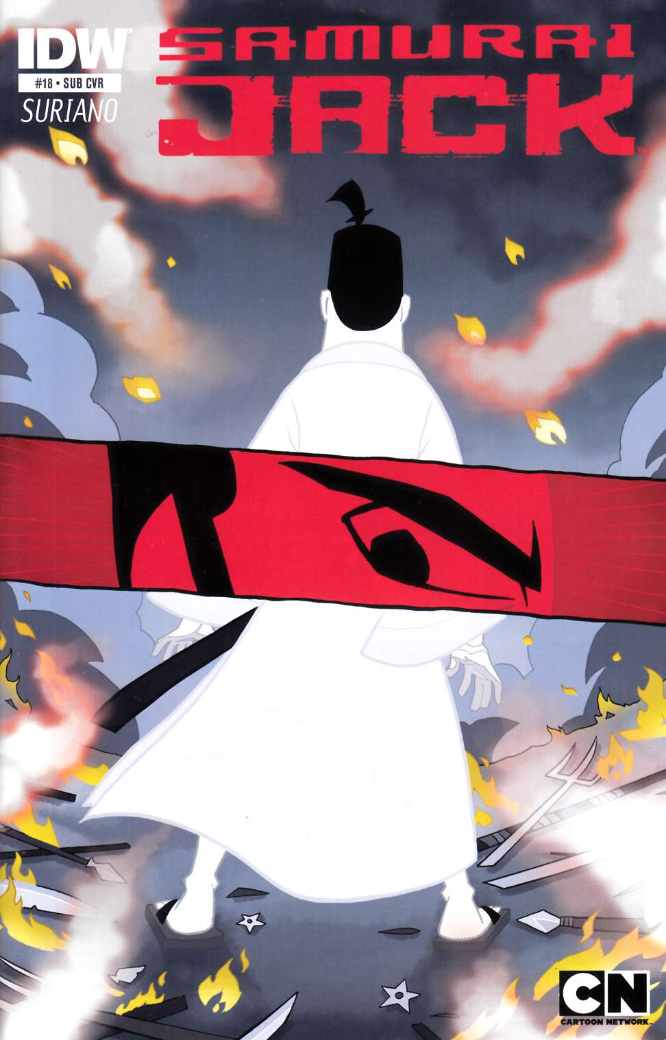 Samurai Jack #18 Subscription Cover [IDW Comic] THUMBNAIL