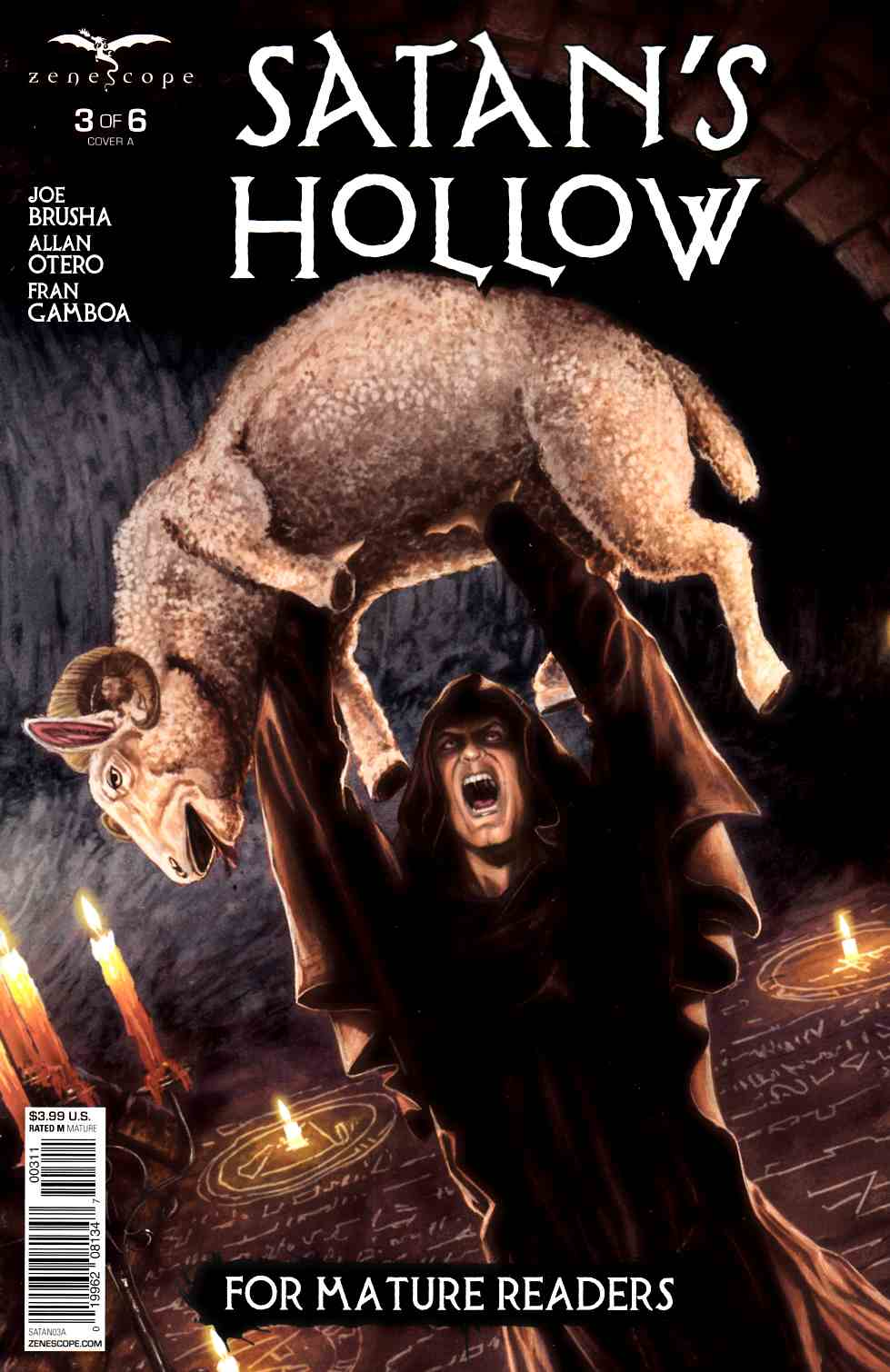 GFT Satans Hollow #3 Cover A [Zenescope Comic] LARGE