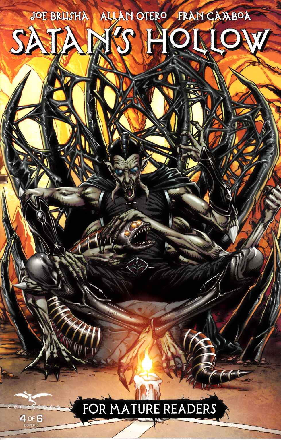 GFT Satans Hollow #4 Cover B [Zenescope Comic] LARGE