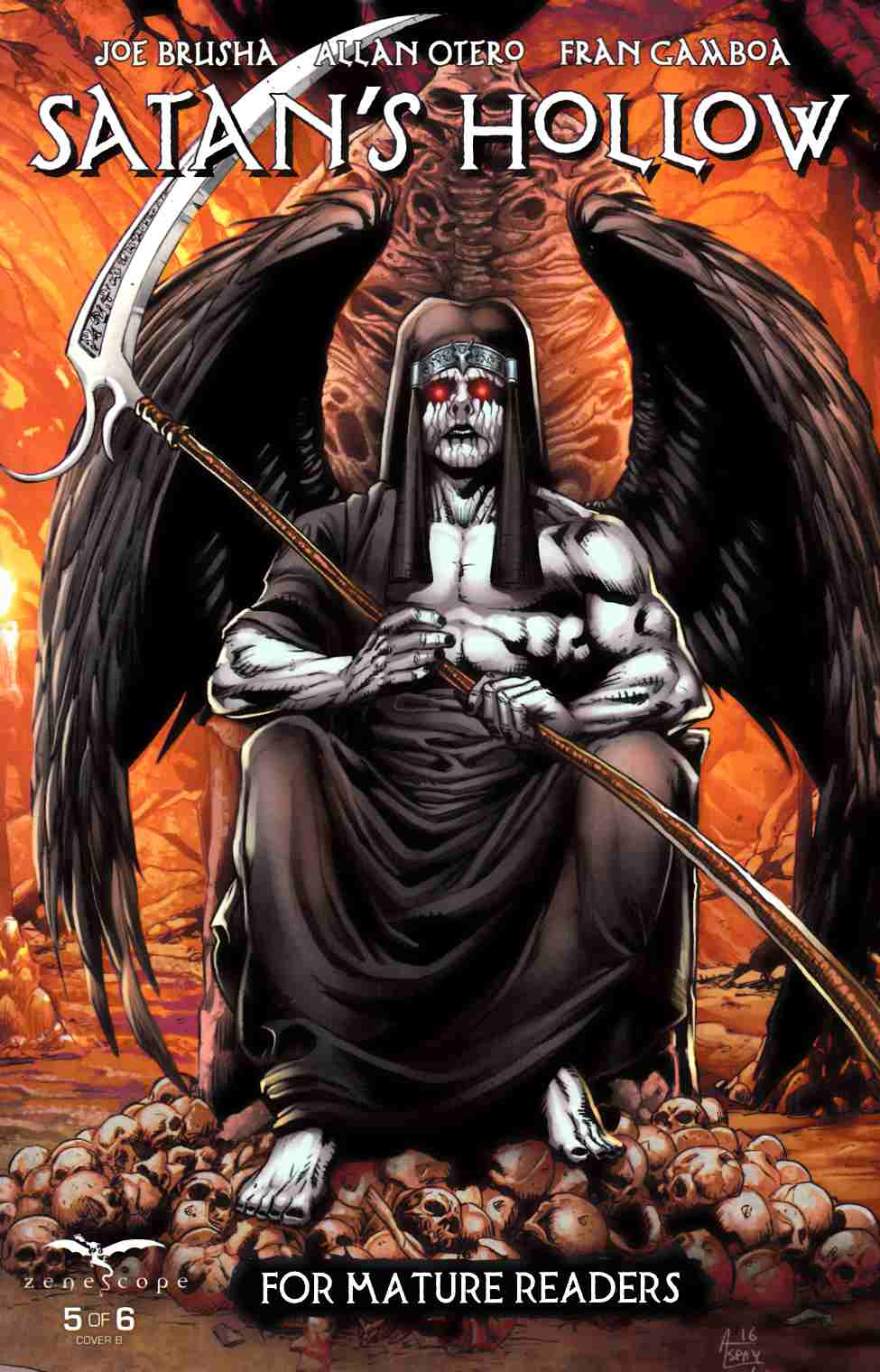 GFT Satans Hollow #5 Cover B [Zenescope Comic] LARGE