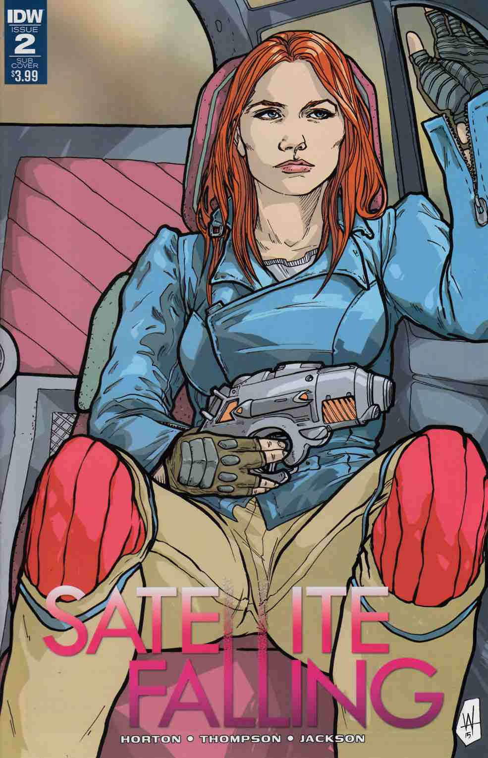 Satellite Falling #2 Subscription Cover [IDW Comic]