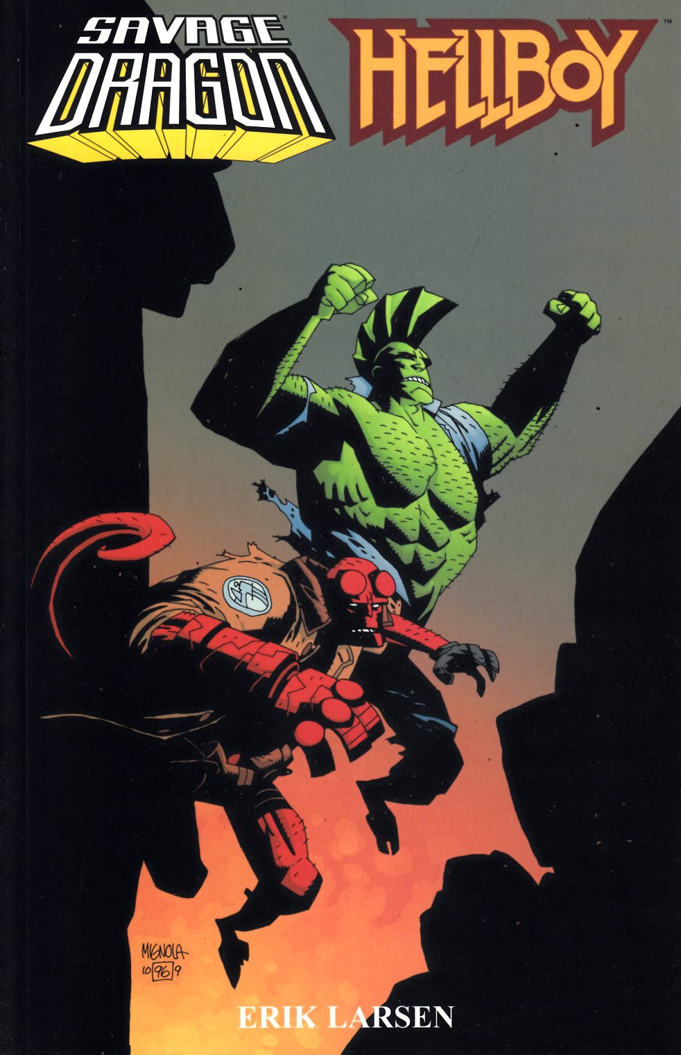 Savage Dragon Hellboy (One Shot) Near Mint (9.4) [Image Comic] THUMBNAIL